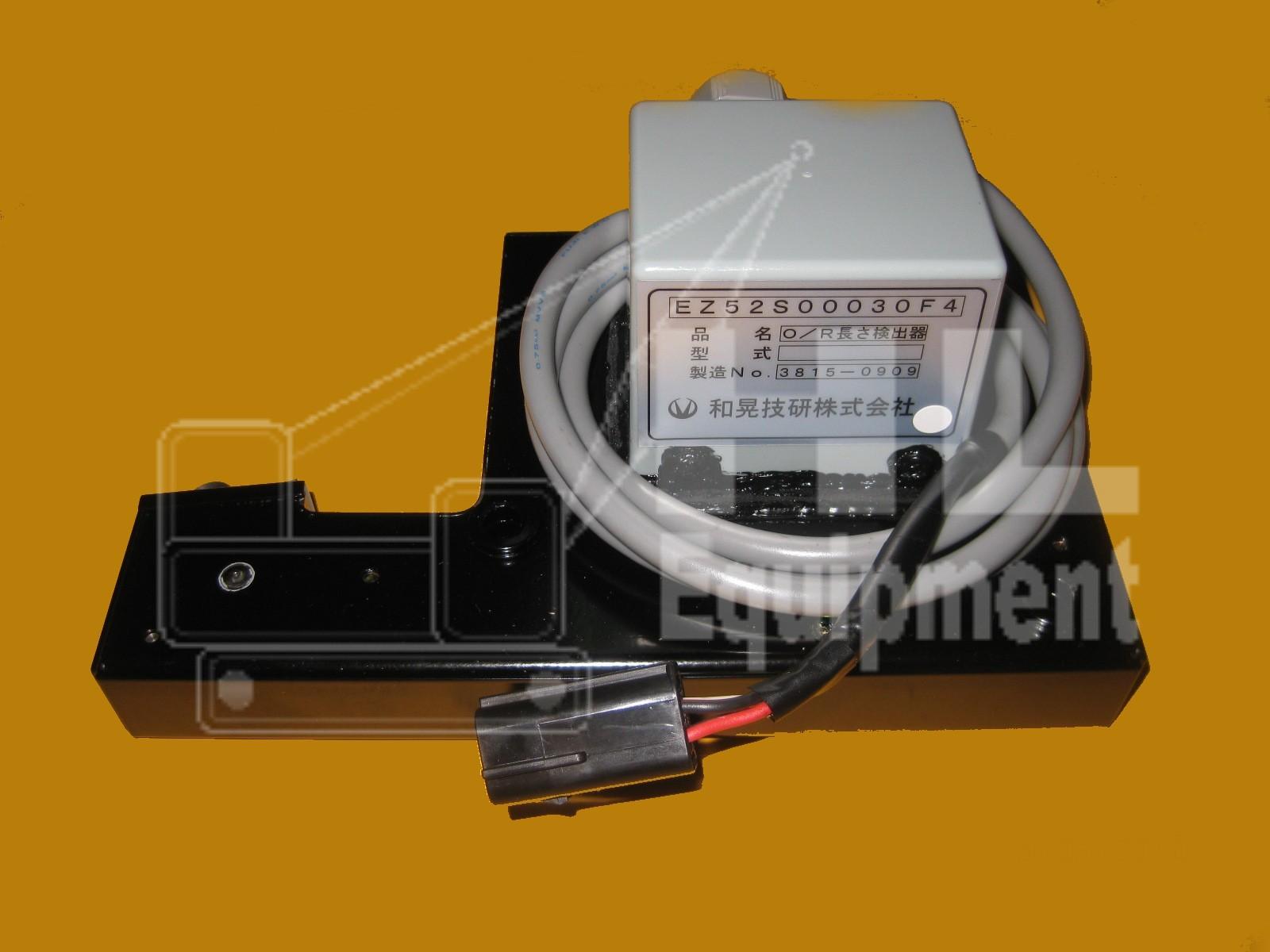 Kobelco Outrigger Sensor