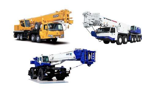 crane parts for various cranes